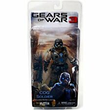 NECA GEARS OF WAR 3 COG Soldier 7in. Action Figure  w/ Retro Lancer