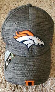 Denver Broncos New Era Training Hat Stretch Fit--s/m or m/l