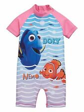 Girls UV Sun Protection Swimsuit 3-4 Years Disney Sunsafe Surfsuit NEW BNWT
