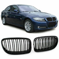 FRONT GRILLS CARBON FOR BMW E90 E91 08-12 SERIES 3 M-LOOK