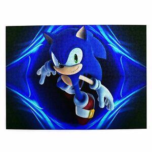 Sonic the Hedgehog Wood Jigsaw Puzzle Education DIY Toys 300/500/1000 Pcs