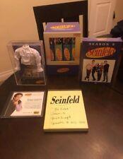 Seinfeld Season 1-6 DVD Box Set w Puffy White Shirt and Script