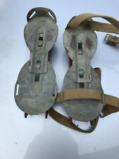 Vintage Kids Double Bladed Skates With Straps