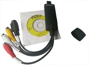 Easycap USB Audio VHS to DVD Converter Capture Recorder Analog Video Digital US