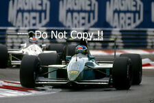 Ivan Capelli Leyton House CG911 Italian Grand Prix 1991 Photograph