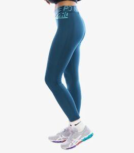New Nike Pro Women's Intertwist Tights Full length Size Large (BV9264 347) Blue