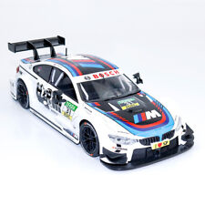 1:24 BMW M4 DTM Racing Car Model Car Diecast Vehicle Gift Collectable White