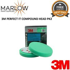 3M 50487 Perfect-It Fast Cut Foam Compounding Pads 150 mm PACK OF 2 - GREEN