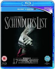 SCHINDLER'S LIST - BLU RAY - NEW / SEALED - UK STOCK