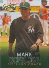 2018 Greensboro Grasshoppers Mark Difelice Miami Marlins PC