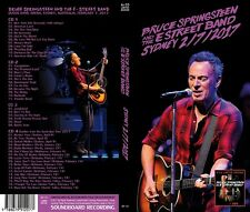 Bruce Springsteen Sydney 2017  4 CD's   Box Set