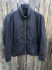 G-Star Raw Correct Line Cotton Bomber Jacket Navy Blue Sz M