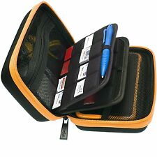 BRENDO New Nintendo 2DS XL Case and Large Stylus/ Large Storage & 24 Card holder