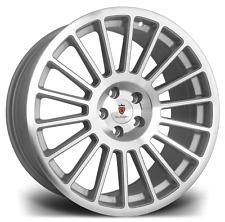 "18"" Stuttgart ST2 Alloy Wheels Silver Polished 5x100 fits Audi TT 8N Mk1"