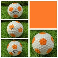 1 Callaway Chrome Soft Truvis Golf Ball - Unreleased Prototype Orange/White New