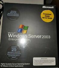 Windows Server Enterprise 2003 NFR with 25 CALs