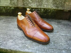 CHURCH'S ROYAL OXFORDS – BROWN / TAN – HENRY – UK 10 – VERY GOOD CONDITION