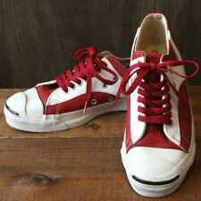 Vintage 1990's Converse Jack Purcell Sneakers Rally lLow Leather US 8 26.0cm