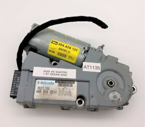 OEM 02-08 Audi A4 Quattro Sedan VW Overhead Sun Roof Sunroof Motor Module Unit