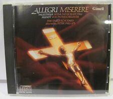 Allegri: Miserere, The Tallis Scholars, CD NM Gimell