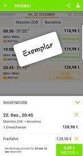 2 x Flixbus Freifahrt Gutschein ~ Europäischen Netz mit Umstieg ~
