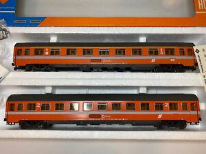 Roco Spur H0 4236A/4237A 2 x Personenwagen der ÖBB Schnellzugwagen
