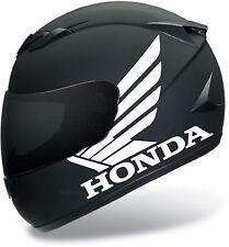 HONDA WINGS HELMET  MOTORCYCLE VINYL STICKER DECALS ARAI BELL SUOMY ICON