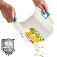 VonShef Flexible Antimicrobial Chopping Board Folding Kitchen Food Cutting