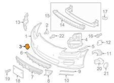 Genuine Porsche Panamera Front Bumper Tow Hook Eye Cover Cap OEM 97050570300G2L