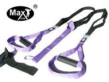 MaxGym® trainer. Body Trainer. Suspension Straps. Home Fitness purple