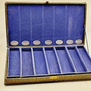Vintage antique fountain pen shop case display 1930's Hungary