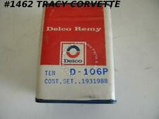 1962-1974 Corvette Contact Points Delco Remy D-106P GM# 1931988 10 Sets/Box  NOS
