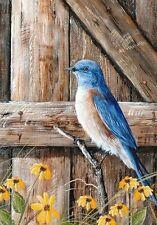 Bluebird Song Summer - Garden Flag