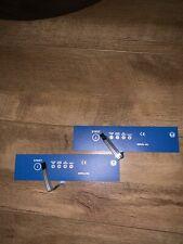 2x BN Haigh Sluicemaster Mascerator Bedpan Membrane Switch Part No. 900-030137