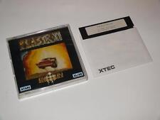Atari disque 48k ~ plastron par harlequin ~ atari 400/800/600XL/800XL/130XE/65XE