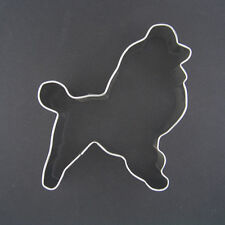 "STANDARD POODLE 3"" METAL COOKIE CUTTER DOG PET TREAT PARIS BIRTHDAY PARTY FAVOR"