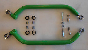 ARCTIC CAT WILDCAT 1000 EXTREME CLEARANCE LOWER RADIUS BARS CHROMOLY GREEN