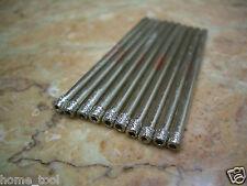 "10 pieces 3mm ( 1/8"" inch ) THK Diamond coated drill bit hole saw glass drills"