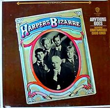 HARPERS BIZARRE - ANYTHING GOES - WARNER BROS. - STEREO LP - GOLD LABEL