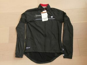 PEARL IZUMI LONG SLEEVE ELITE BARRIER BIKE JACKET POLY FULL ZIPPER BLACK WOMEN S