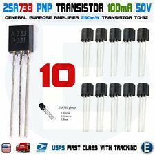 10pcs 2SA733 Amplifier NEC TO-92 Transistor A733 A 733 PNP