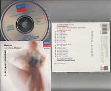 W.GERMANY PDO Decca FS- DVORAK 16 Slavonic Dances - Von Dohnanyi Cleveland CD