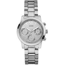 GUESS Women's Stainless Steel Wristwatches with Chronograph
