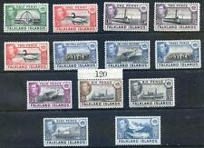 Falkland Islands 1938 Definitives to 1sh mint (2016/04/26/#07)