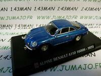 AP61G Voiture 1/43 IXO AUTO PLUS : Alpine Renault A110 1600 S 1973