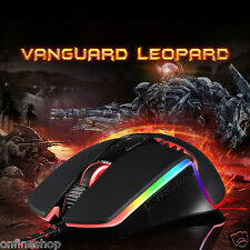 Motospeed V20 5000DPI 7 Buttons Breathing LED Optical Wired Gaming Mouse Mice