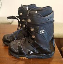 Men's size 10 1/2 DC Phase Snowboard Boots Black, Size 10.5