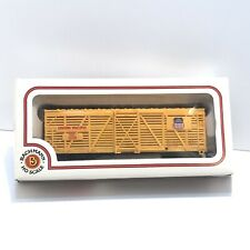"""HO Scale """"Union Pacific"""" OSL 47736 Livestock Cattle Freight Train / Unloader"""