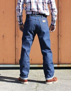Wrangler13MWZCowboyCut RawDenim blau/indigo /Rockabilly/Biker Jeans/HotRod