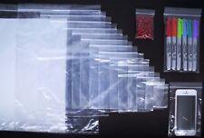 Trasparente Buste Sigillate Auto Stampa Politene Richiudibile Zip Lock Plastica